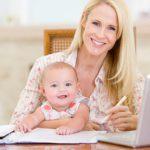 Как заработать, сидя в декрете — советы молодым мамам